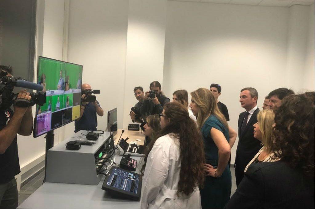 Susana Díaz visita las instalaciones de INDESS Media